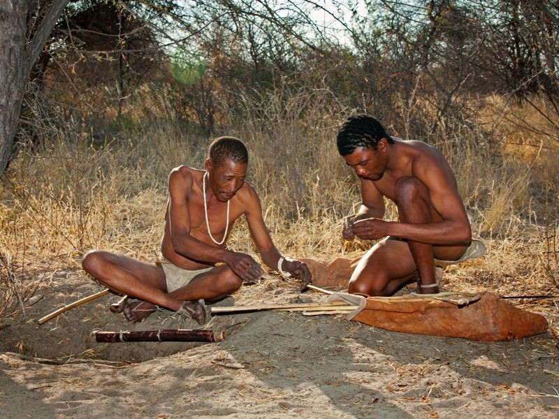 Follow in the footsteps of the world's oldest extant human culture