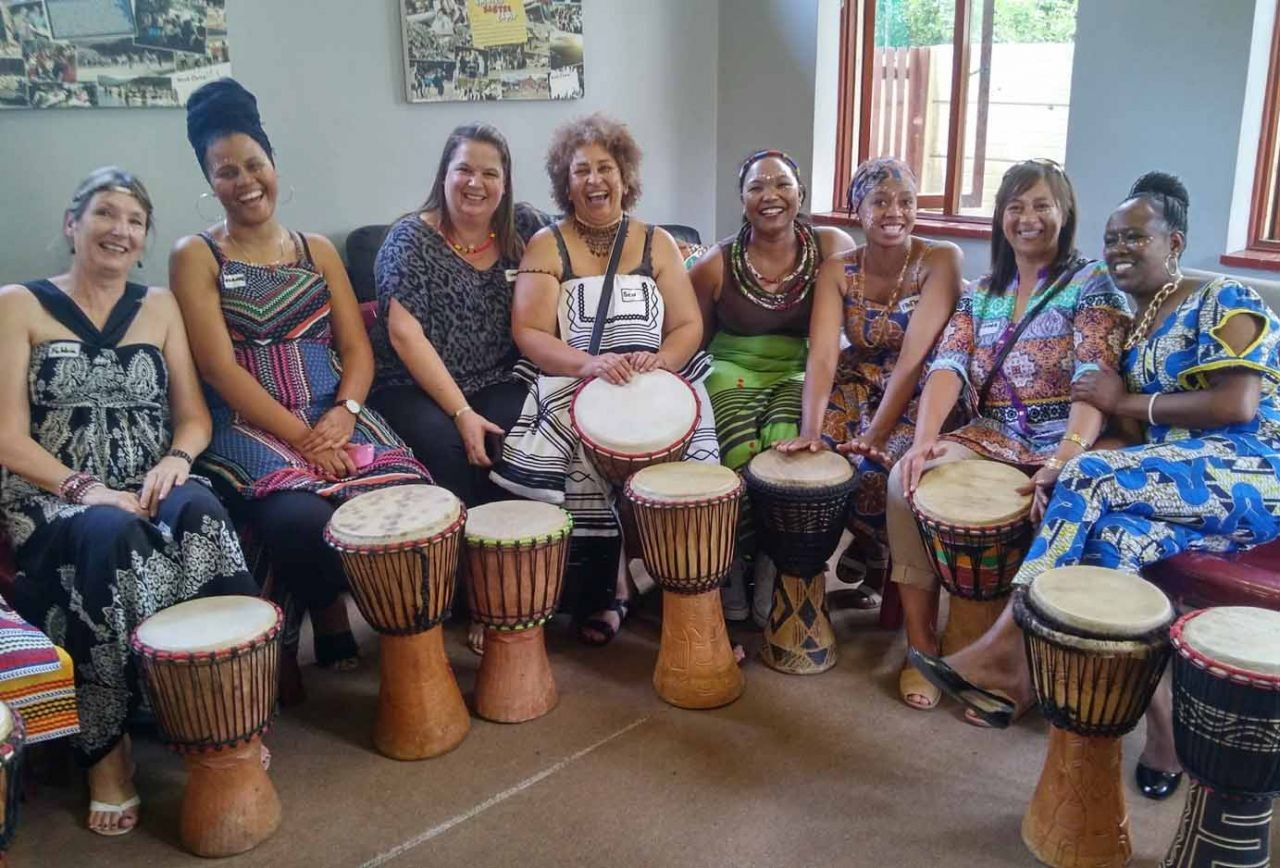 African drumming and restoring dignity