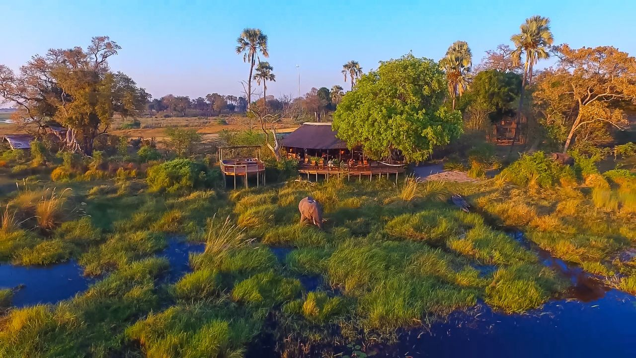 The Okavango Delta as you've never seen it before.