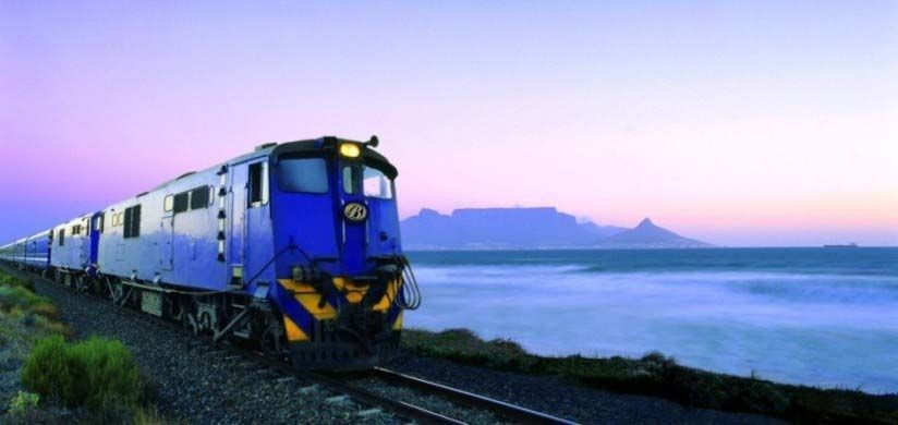 Train travel - the African way