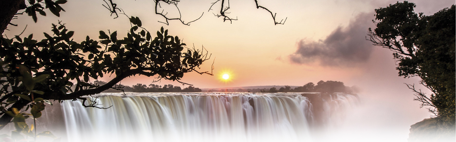 A beautiful picture of the Victoria Falls (+ Cape Town) tour
