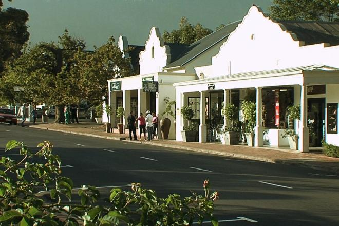 A beautiful picture of Cape Winelands Tour