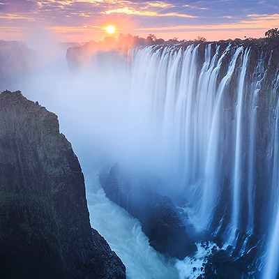 Picture of Victoria Falls (+ Cape Town)